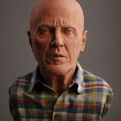 Square walken sculpture