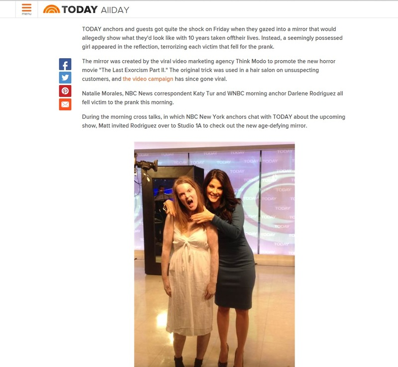 Large today show exorcist
